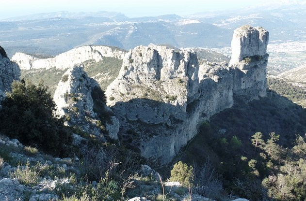 Les Dents de Roque Forcade